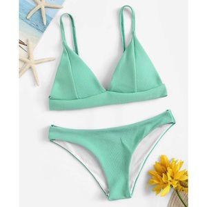 Seafoam Green Bikini Set
